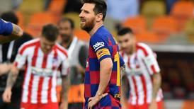 Dejection for Lionel Messi, but Barcelona star gives Saudi Arabia fans a night they will never forget