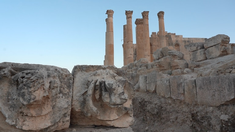 An image that illustrates this article Watch how Jordan is preparing for the return of Jerash festival
