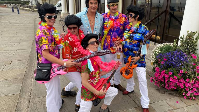 An image that illustrates this article Porthcawl Elvis Festival
