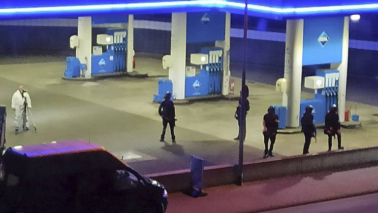 An image that illustrates this article Outcry after German petrol station worker shot dead in mask row