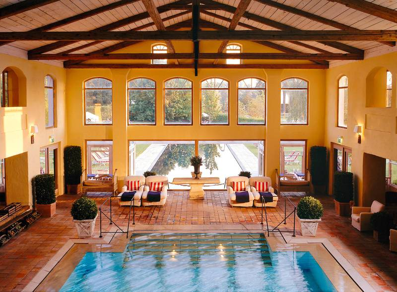 A handout photo of the swimming pool at Zur Bleiche Resort & Spa (Courtesy: Zur Bleiche Resort & Spa)