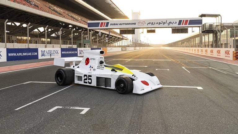 An image that illustrates this article Dubai motorsport heritage day to remember 1981 grand prix street race