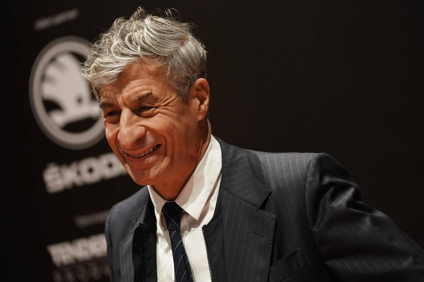 MILAN, ITALY - NOVEMBER 23: Maurizio Cattelan attends the Vanity Fair Stories 2019 Awards Photocall at The Space Cinema Odeon on November 23, 2019 in Milan, Italy. (Photo by Vittorio Zunino Celotto/Getty Images)