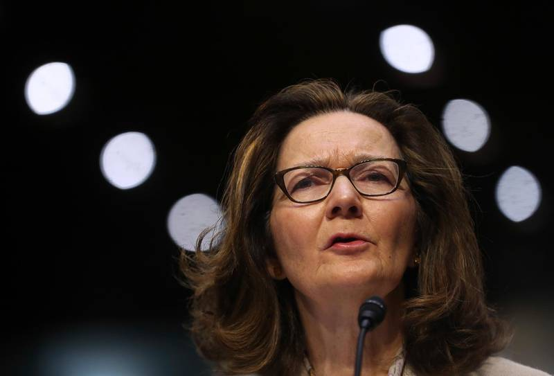 """In this May 9, 2018 photo, CIA nominee Gina Haspel testifies during a confirmation hearing of the Senate Intelligence Committee, on Capitol Hill in Washington. In a letter Tuesday to the top Democrat on the Senate Intelligence Committee, Haspel says she would """"refuse to undertake any proposed activity that is contrary to my moral and ethical values.""""  (AP Photo/Pablo Martinez Monsivais)"""