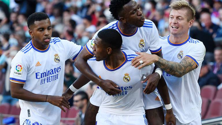 An image that illustrates this article Barcelona v Real Madrid ratings: Gavi 7, Fati 6; Vinicius Jr 8, Benzema 7