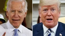 Feud between Donald Trump and Joe Biden flares up