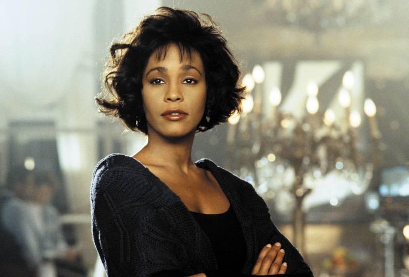 Whitney Houston in The Bodyguard. Courtesy Warner Bros.