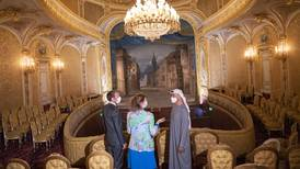 What is the Sheikh Khalifa Theatre at France's Palace of Fontainebleau?