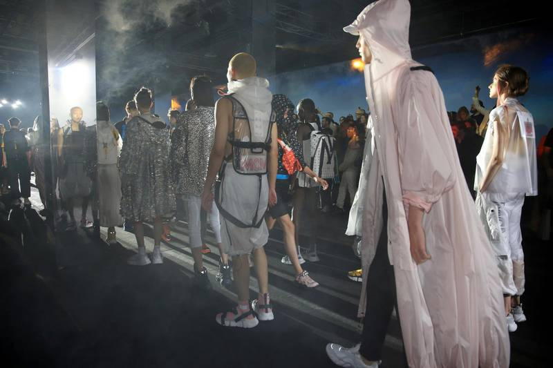 FLORENCE, ITALY - JUNE 13:  Venue of the MCM Fashion Show Spring/Summer 2019 during the 94th Pitti Immagine Uomo on June 13, 2018 in Florence, Italy.  (Photo by Vincenzo Lombardo/Getty Images for MCM)