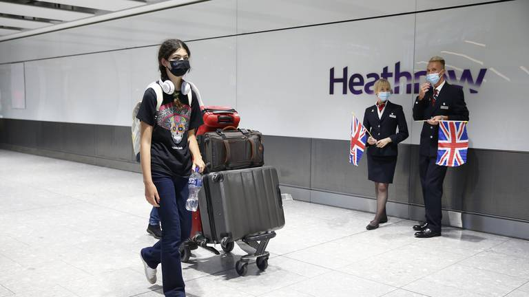 An image that illustrates this article England's new travel rules changes nothing for travellers from UAE