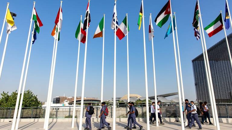 An image that illustrates this article Expo 2020 Dubai a 'catalyst for hope' of Covid recovery, UN official says