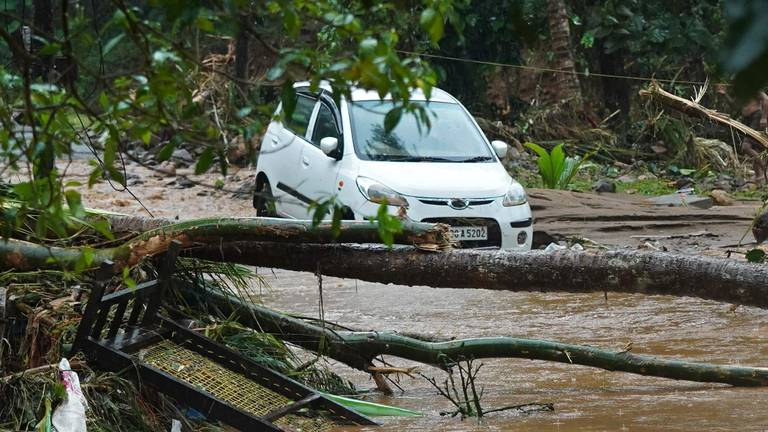 An image that illustrates this article Several people killed as heavy rain in Kerala triggers flooding and landslides