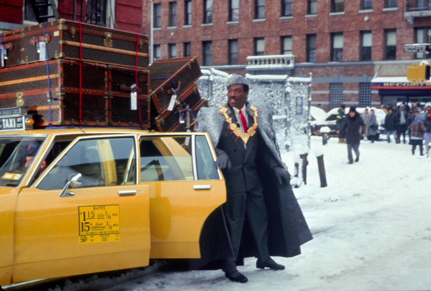 Eddie Murphy in Coming to America. Courtesy Paramount Pictures