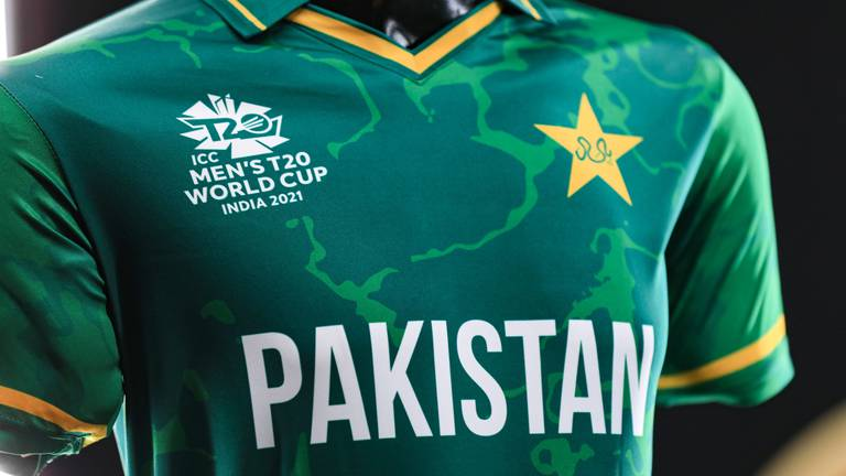 An image that illustrates this article 2007-2021: Pakistan's T20 World Cup jersey evolution - in pictures