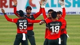 Bangladesh stun Australia by 23 runs in first T20 in Dhaka