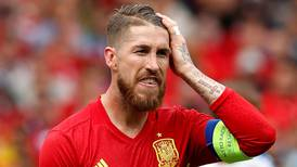 Real Madrid defender Sergio Ramos left out of Spain squad for Euro 2020