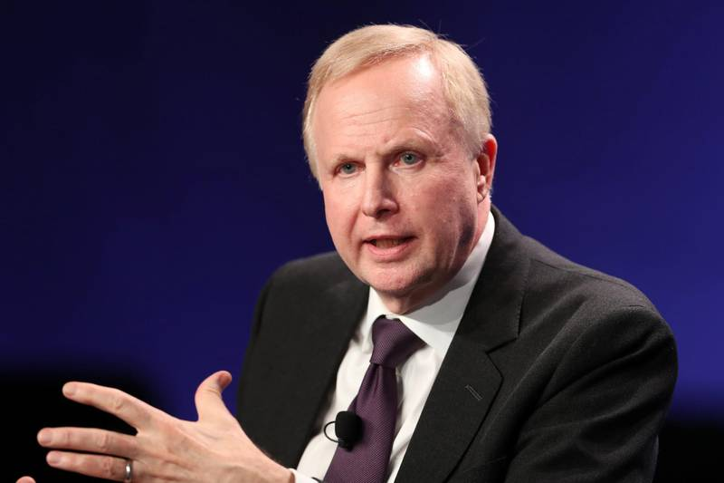 Bob Dudley, Group Chief Executive of BP, speaks at the 2019 Milken Institute Global Conference in Beverly Hills, California, U.S., April 29, 2019. REUTERS/Lucy Nicholson