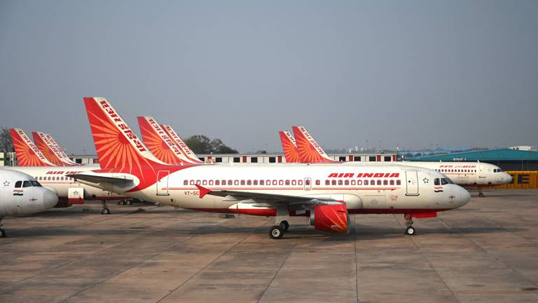 An image that illustrates this article Tata Sons wins bid to take over troubled Air India for $2.4bn