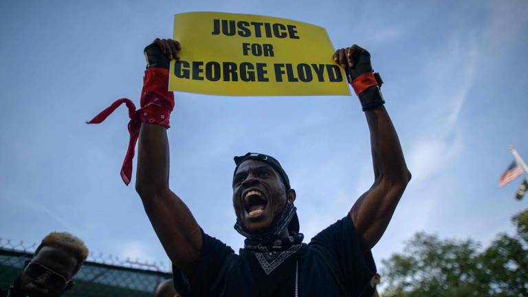 An image that illustrates this article Will laws in America change after George Floyd's death?