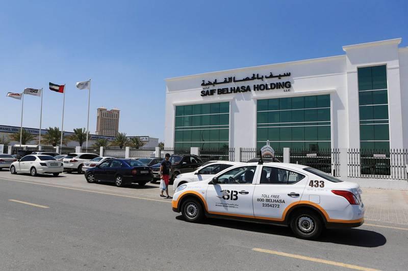 DUBAI, UAE. March 23, 2014- at Belhasa Driving School in Dubai, Friday, March 23, 2014. (Photos by: Sarah Dea/The National, Story by: Sananda Sahoo, Business)