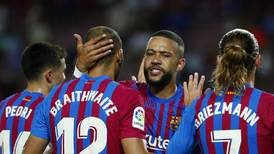 Barcelona ratings v Real Sociedad: Depay and Braithwaite star as fans chant for Messi