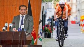 The Afghan who swapped high office for food delivery bike in Germany