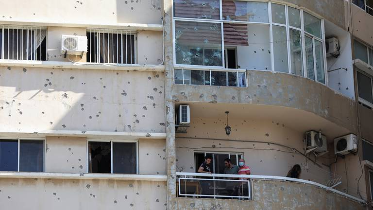 An image that illustrates this article Beirut shooting leaves residents feeling hopeless as tensions brew