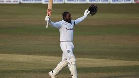 Kayle Mayers scores stunning double century on Test debut as West Indies beat Bangladesh