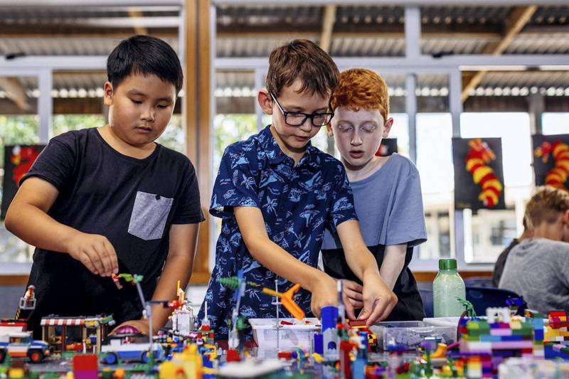 Lego therapy has been shown to help improve communication skills among autistic children. Courtesy Lego