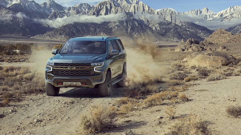An image that illustrates this article Road test: the new Chevrolet Tahoe Z71 seats seven adults in style