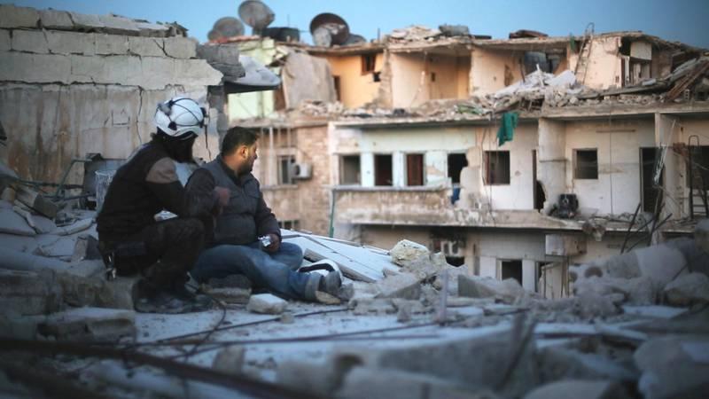 Last men in Aleppo. Courtesy DIFF