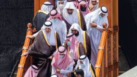 The annual ceremony of washing the Kaaba