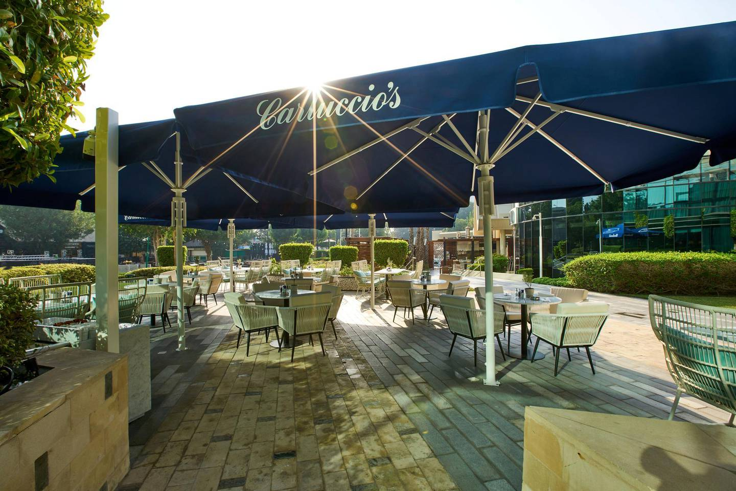 Carluccio's have just started their first brunch at Jumeirah Creekside Hotel. Courtesy Seven Media.