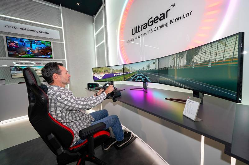 IMAGE DISTRIBUTED FOR LG ELECTRONICS - The World's First 1ms IPS Gaming Monitor at the LG Electronics booth during CES 2020 on Wednesday, Jan. 8, 2020 in Las Vegas. (Jack Dempsey/AP Images for LG Electronics)