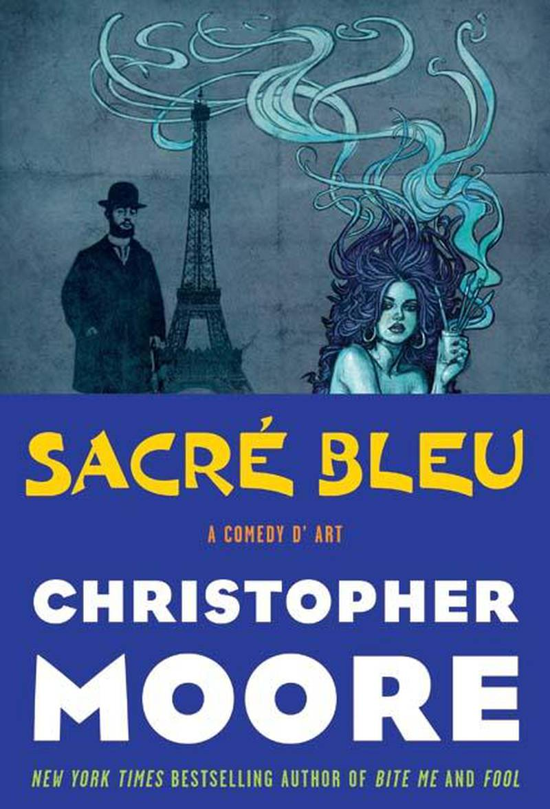 Sacre Bleu by Christopher Moore published by William Morrow. Courtesy HarperCollins