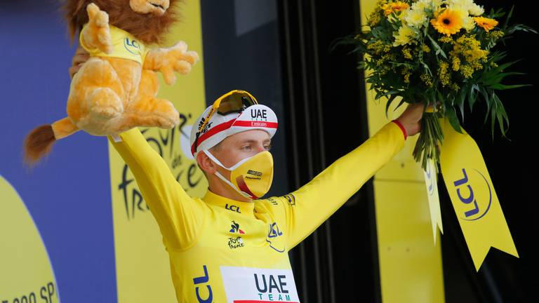 An image that illustrates this article Pogacar returns after title defence of Tour de France and bronze at Tokyo