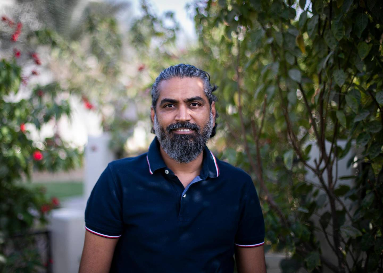 DUBAI, UNITED ARAB EMIRATES. 26 JANUARY 2021. Nilesh Jain in his home in Al Furjan. He has refinanced  his mortgage in the UAE.(Photo: Reem Mohammed/The National)Reporter:Section:
