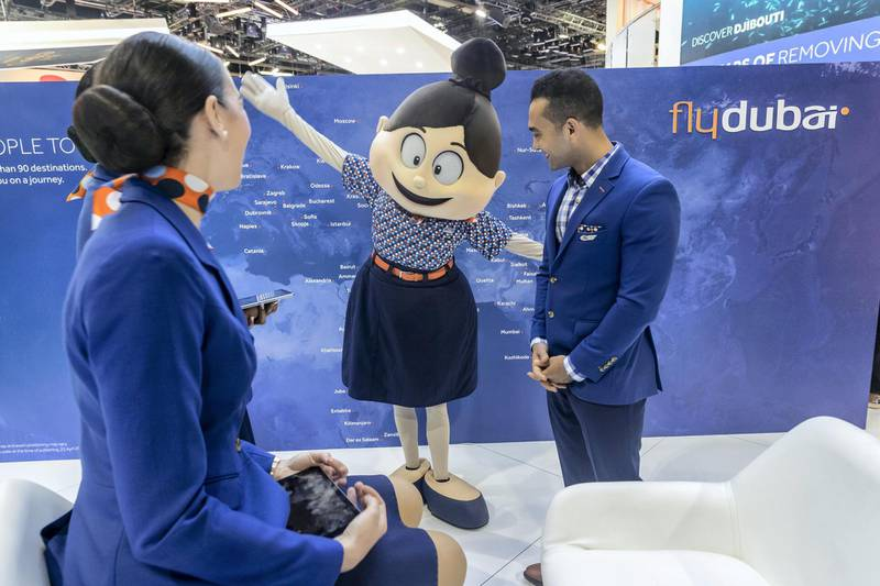 DUBAI, UNITED ARAB EMIRATES. 28 APRIL 2019. The first day of Arabian Travel Market at the Dubai World Trade Center. General image from the show. (Photo: Antonie Robertson/The National) Journalist: None. Section: Business.