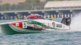 Abu Dhabi International Marine Sports Club gears up for busy period of F1 H20 powerboat action