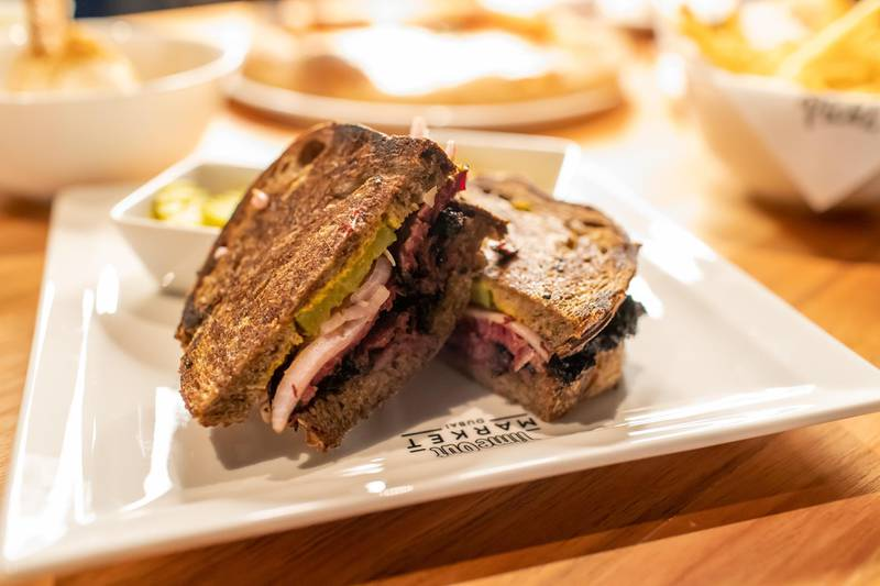 Local Fire by Mattar Farm pastrami sandwich on rye. Courtesy Time Out/ Jack Wilkinson