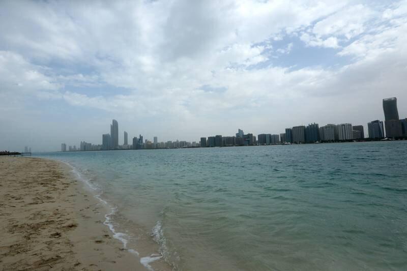 6 - January - 2014, Heritage Village, Abu Dhabi  The Weather yesterday in Abu Dhabi. Fatima Al Marzooqi/ The National.