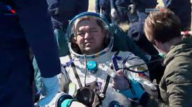 Space station crew return to a different Earth