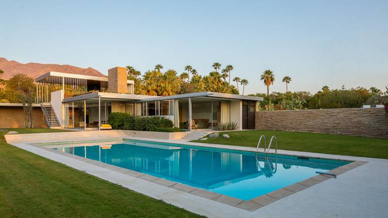 An image that illustrates this article Palm Springs property made famous by Slim Aarons on market for $17m