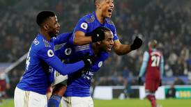 Leicester City thrash West Ham to cement third as Brendan Rodgers eases fears over Jamie Vardy injury
