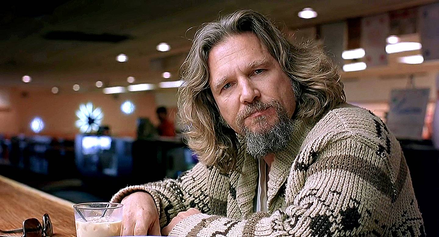 Jeff Bridges in a scene from 1998's The Big Lebowski. CREDIT: Courtesy Working Title Films