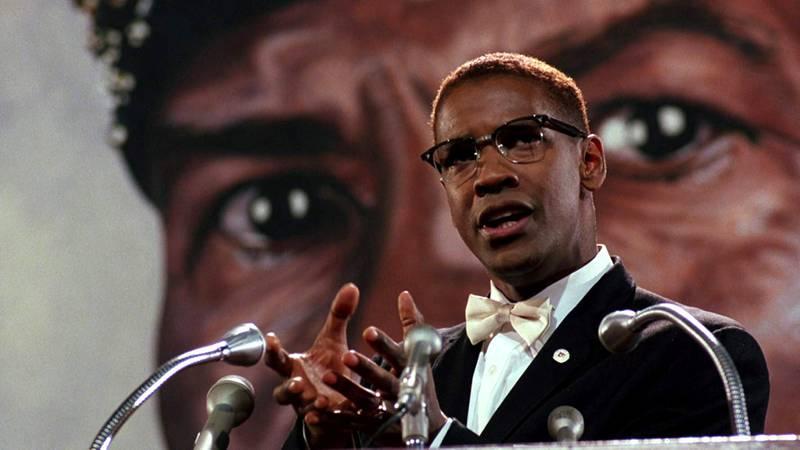 Denzel Washington in Malcolm X (1992). IMDb