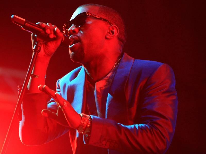 November 12, 2010 / Abu Dhabi / (Rich-Joseph Facun / The National) Kanye West (CQ), performs live at Yas Island, Friday, November 12, 2010 in Abu Dhabi.