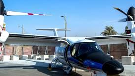Half-plane, half-helicopter, AW609 lands at Expo 2020 Dubai.