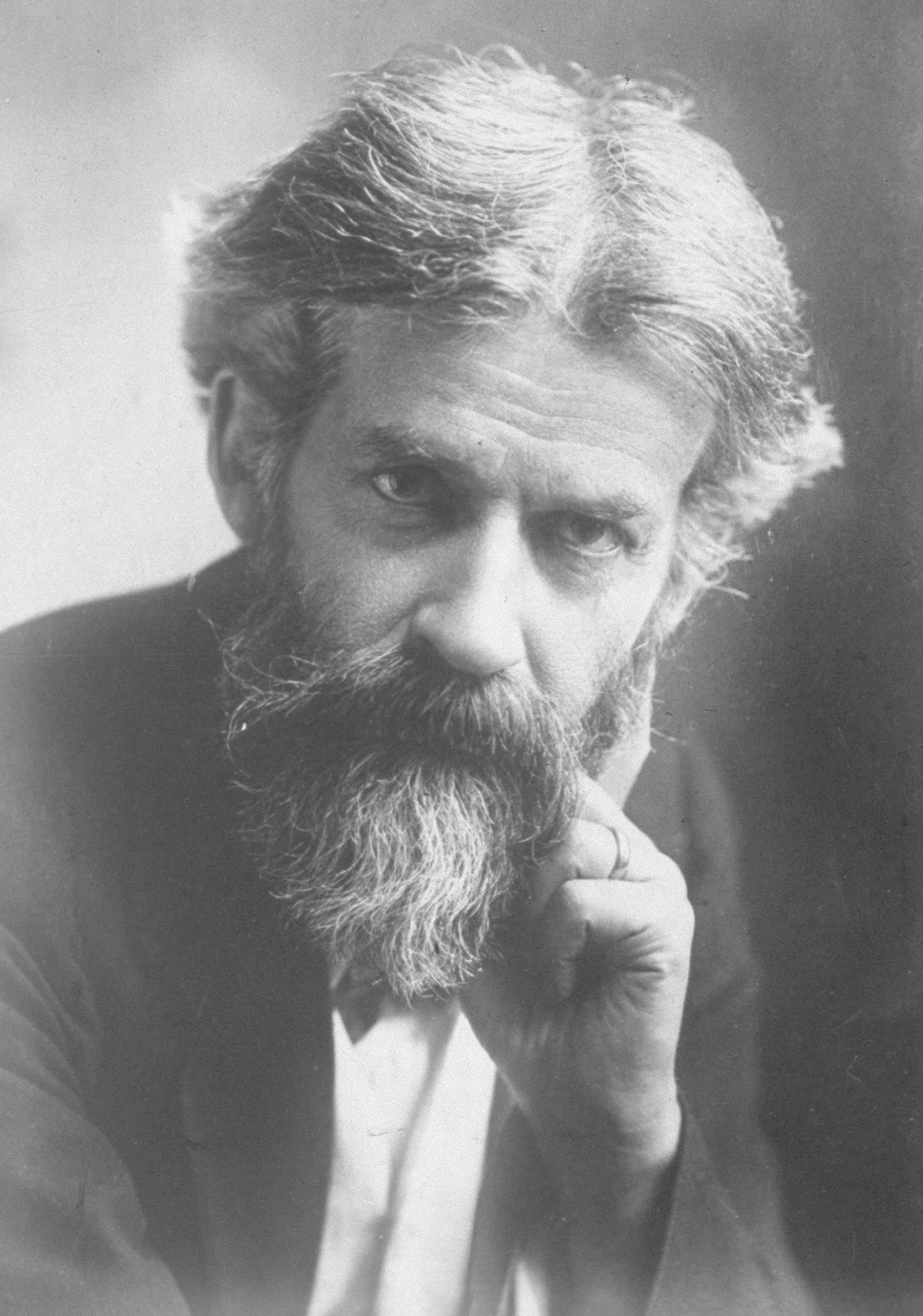 UNSPECIFIED - 1930:  Portrait of sociologist Sir Patrick Geddes, who was commissioned by the British government to modernize and design buildings for Hebrew University on the Mount of Olives in Palestine.  (Photo by Underwood And Underwood/Underwood And Underwood/The LIFE Images Collection via Getty Images/Getty Images)
