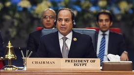 Egypt's El Sisi blames 'elements' not authorities for 2011 protest deaths